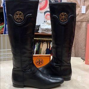 Tory Burch Shoes - Tory Burch SELMA Black Boots Size 7 1/2M